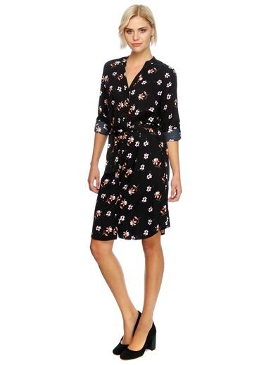 Çiçek Desenli Elbise-Limon Company